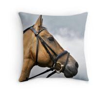 three horses (3) Throw Pillow