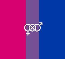 Bisexual Pride by Annie Louise