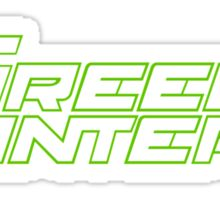 dc comic green lantern Sticker