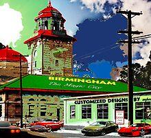 Birmingham's Old Terminal Station II by Mike Pesseackey (crimsontideguy)