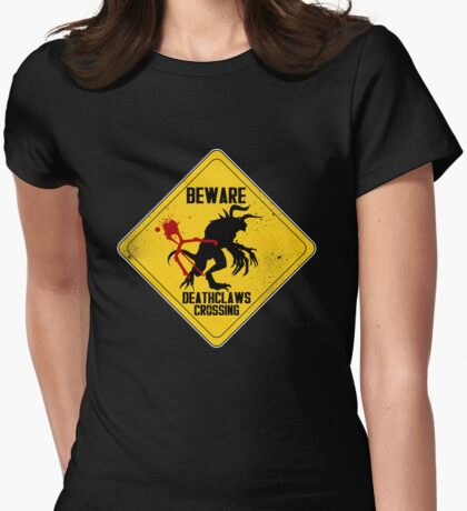Deathclaws Womens Fitted T-Shirt