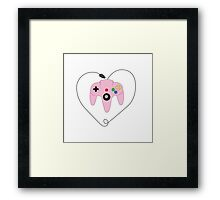 Gaming is Love Framed Print