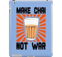 Make Chai Not War Funny Geek Nerd iPad Case/Skin