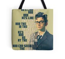 David Tennant - He's wonderful Tote Bag