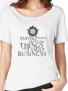 Family business Women's Relaxed Fit T-Shirt
