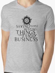 Family business Mens V-Neck T-Shirt