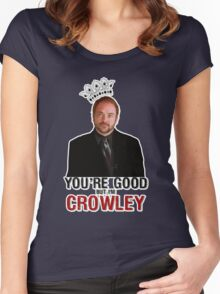 I'm Crowley! Women's Fitted Scoop T-Shirt