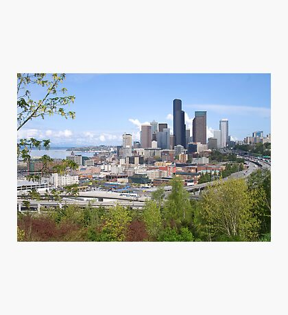 Seattle Photographic Print