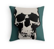 Skull - Sherlock Throw Pillow