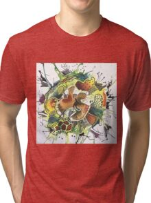 Abstract Explorations 3 Tri-blend T-Shirt