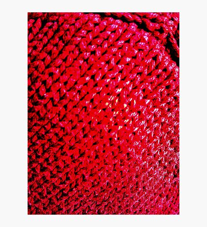 Knitted Photographic Print