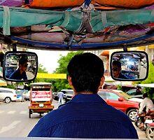 Tuk Tuk Ride - Phnom Penh, Cambodia. by Tiffany Lenoir