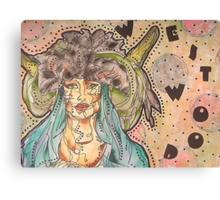 Vivienne Westwood Model Canvas Print