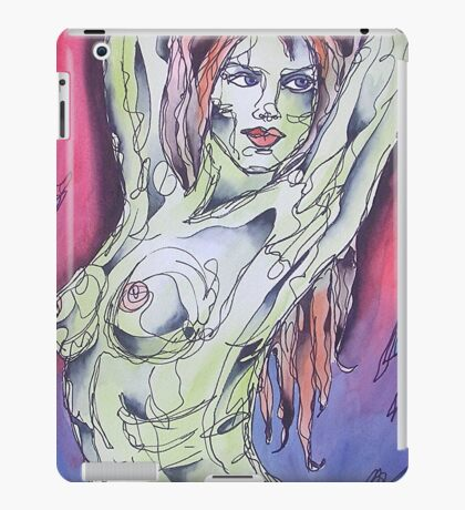Nude With Red Hair iPad Case/Skin