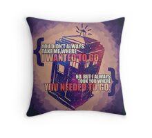 Idris - Doctor Who Throw Pillow