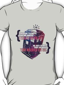 Idris - Doctor Who T-Shirt