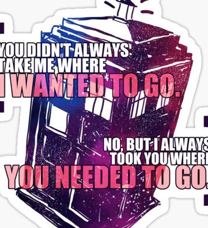 Idris - Doctor Who Sticker