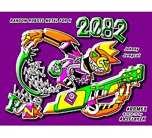 NEW WAVE PUNK ROBOT 2082 !!! Photographic Print