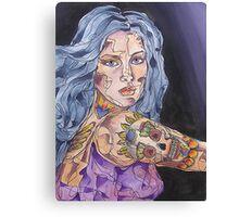 Big Tattoo Woman Canvas Print
