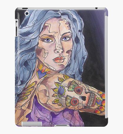 Big Tattoo Woman iPad Case/Skin