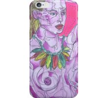 Nude on Pink Ground iPhone Case/Skin