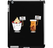 My Gut My Choice Funny Geek Nerd iPad Case/Skin