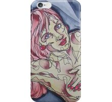 Nude Pose Female iPhone Case/Skin