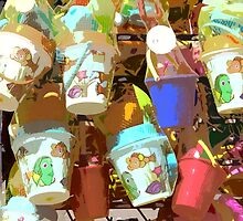 Plastic Buckets by gailmiller