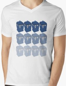 The T.A.R.D.I.S. Mens V-Neck T-Shirt