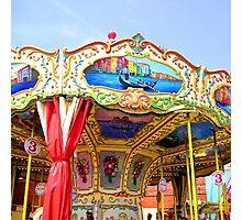 Carousel Photographic Print