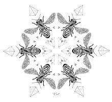 Mandala ~ Killer Bees by thirdeyeofnewt