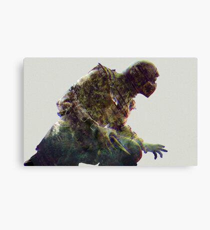 mortal kombat. scorpion Canvas Print