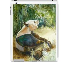 Stop and smell the Flowers id1270236 panda bear iPad Case/Skin