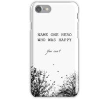 The Song of Achilles (3) iPhone Case/Skin
