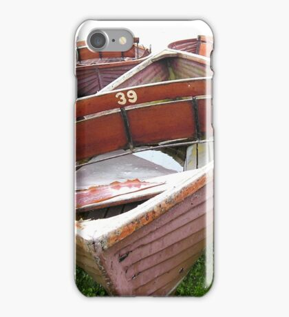Row Boat Number 1 Hornsea Mere (or THIRTY NINE) iPhone Case/Skin