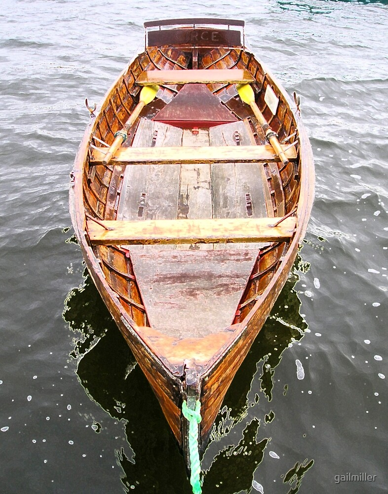 Row Boat Number 2 Hornsea Mere (or CIRCE) by gailmiller