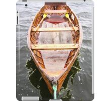 Row Boat Number 2 Hornsea Mere (or CIRCE) iPad Case/Skin