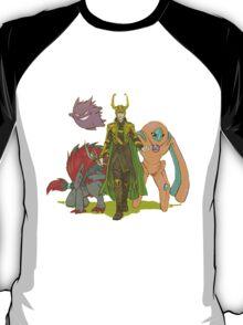 Loki and pokemon T-Shirt