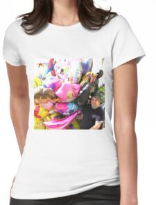 Balloon Man Womens Fitted T-Shirt