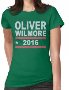 Oliver Wilmore Funny Geek Nerd Womens Fitted T-Shirt