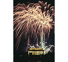 DC Fireworks Photographic Print