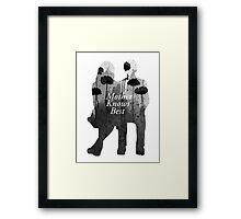 Bates Motel - Mother Knows Best Framed Print