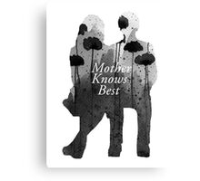 Bates Motel - Mother Knows Best Canvas Print