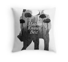 Bates Motel - Mother Knows Best Throw Pillow