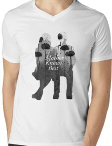 Bates Motel - Mother Knows Best Mens V-Neck T-Shirt