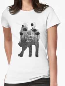 Bates Motel - Mother Knows Best Womens Fitted T-Shirt