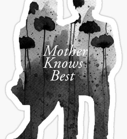 Bates Motel - Mother Knows Best Sticker