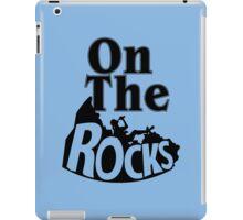 On The Rocks Funny Geek Nerd iPad Case/Skin
