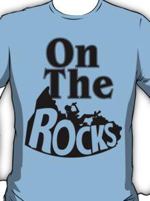 On The Rocks Funny Geek Nerd T-Shirt