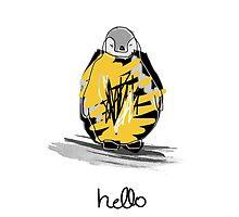 Penguin Illustration by Josephine Jost-Crous